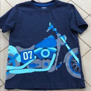 Gymboree Motorcycle Shirt Like New Size 3T